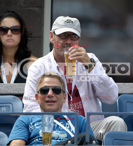 September 2, 2012: Actors Kevin Spacey (top) and Tony Danza (bottom) attend Day 7 of the 2012 U.S. Open Tennis Championships at the USTA Billie Jean King National Tennis Center in Flushing, Queens, New York, USA. Credit: mpi105/MediaPunch Inc. /NortePhoto.com<br /> <br /> **CREDITO*OBLIGATORIO**<br /> *No*Venta*A*Terceros*<br /> *No*Sale*So*third*<br /> *** No Se Permite Hacer Archivo**