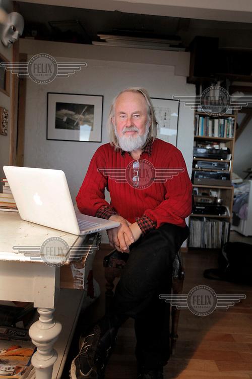 (Oslo 28.10.2010).Forfatter Nils A.Raknerud..©Fredrik Naumann/Felix Features