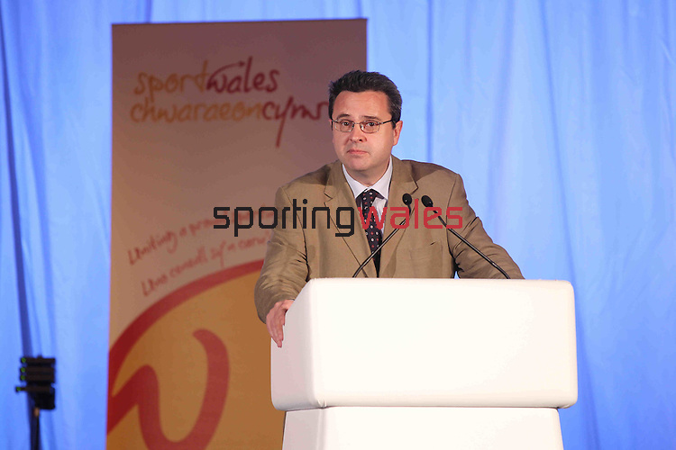 Sport Wales Stakeholder Conference 2011.Huw Lewis.21.06.11.©Steve Pope