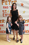 Brooke Shields with her daughters Grier Henchy and Rowan Henchy.attending the Broadway Opening Night Performance of 'Peter And The Starcatcher' at the Brooks Atkinson Theatre on 4/15/2012 in New York City.