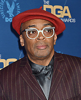 HOLLYWOOD, CA - FEBRUARY 02: Spike Lee attends the 71st Annual Directors Guild Of America Awards at The Ray Dolby Ballroom at Hollywood &amp; Highland Center on February 02, 2019 in Hollywood, California.<br /> CAP/ROT/TM<br /> &copy;TM/ROT/Capital Pictures