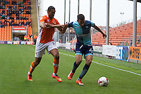 Nick Freeman of Wycombe Wanderers during the Sky Bet League 2 match between Blackpool and Wycombe Wanderers at Bloomfield Road, Blackpool, England on 20 August 2016. Photo by James Williamson / PRiME Media Images.