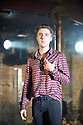 Carmen Disruption by Simon Stephens, directed by Michael Longhurst. With  Jack Farthing as Carmen. Opens at The Almeida Theatre on 17/4/15. CREDIT Geraint Lewis