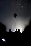 A balloon in the crowd as Lykke Li performs at the Coachella Valley Music and Arts Festival in Indio, California April 10, 2015. (Photo by Kendrick Brinson)