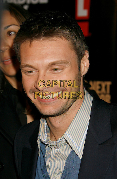 "RYAN SEACREST .""The Girls Next Door"" Season 3 Launch Party held at The Playboy Mansion, Holmby Hills, California, USA,.27 February 2007..portrait headshot .CAP/ADM/RE.©Russ Elliot/AdMedia/Capital Pictures."