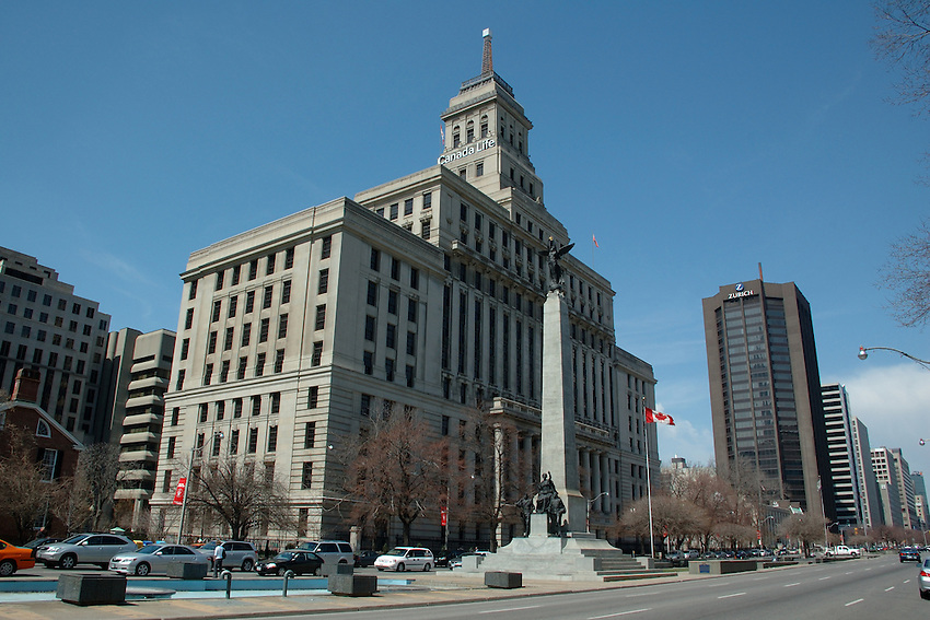 The Canada Life Building, 330 University Avenue, Toronto, Ontario, Canada