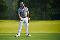 Rory McIlroy (NIR) watches his putt on 9 during 2nd round of the 100th PGA Championship at Bellerive Country Club, St. Louis, Missouri. 8/11/2018.<br /> Picture: Golffile | Ken Murray<br /> <br /> All photo usage must carry mandatory copyright credit (© Golffile | Ken Murray)
