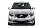 Car photography straight front view of a 2019 Buick Envision Preferred FWD 5 Door SUV