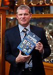 Ian Durrant launches Rangers Hall of Fame book in the Ibrox trophy room