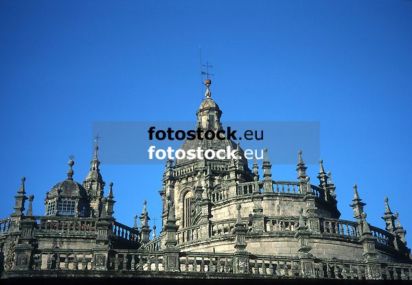 Cathedral of Santiago de Compostela<br /> <br /> Catedral de Santiago de Compostela<br /> <br /> Kathedrale von Santiago de Compostela<br /> <br /> 3811 x 2646 px<br /> Original: 35 mm slide transparency