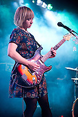 Feb 24, 2013: THE JOY FORMIDABLE - Rescue Rooms Nottingham UK