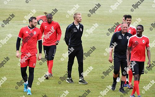 2017-06-12 / Voetbal / Seizoen 2017-2018 / Eerste training Royal Antwerp FC in Wommelgem / Wim De Decker<br /> <br /> ,Foto: Mpics.be