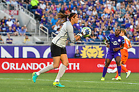 Orlando, FL - Thursday June 23, 2016: Lydia Williams during a regular season National Women's Soccer League (NWSL) match between the Orlando Pride and the Houston Dash at Camping World Stadium.