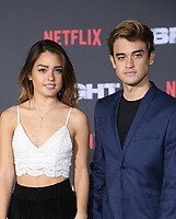 WESTWOOD, CA - DECEMBER 13: Vale Genta, Sebastian Genta, at Premiere Of Netflix's 'Bright' at The Regency Village Theatre, In Hollywood, California on December 13, 2017. Credit: Faye Sadou/MediaPunch /NortePhoto.com NORTEPHOTOMEXICO