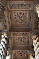 Ceiling of porch by Giovanni Servandoni, 18th century, Eglise Saint-Sulpice (St Sulpitius' Church), c.1646-1745, late Baroque church on the Left Bank, Paris, France. Picture by Manuel Cohen