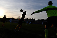 Angelica Soffia of AS Roma takes a throw-in during the Women Serie A 2018/2019 football match between AS Roma and Hellas Verona at stadio Tre Fontane, Roma, January 26, 2019 <br /> Foto Andrea Staccioli / Insidefoto