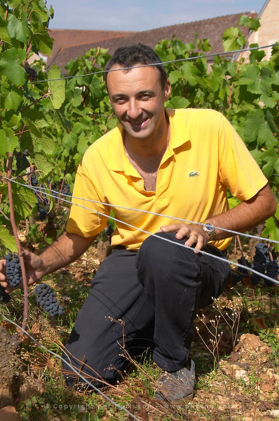 pinot noir Nicolas Rossignol-Trapet  owner dom rossignol trapet gevrey-chambertin cote de nuits burgundy france