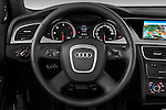 Steering wheel view of a 2011 Audi A4 Allroad Quattro 2.0l TDI 5 Door Wagon