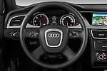 Steering wheel view of a 2011 Audi A4 Allroad Quattro 2.0l TDI 5 Door Wagon