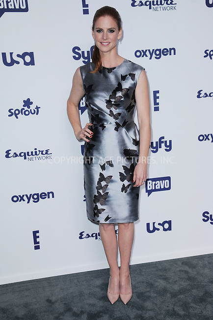 WWW.ACEPIXS.COM<br /> May 15, 2014 New York City<br /> <br /> Sarah Rafferty attending NBCUniversal Cable Entertainment Upfront at the Javits Center in New York City on Thursday, May 15, 2014.<br /> <br /> Please byline: Kristin Callahan/ACE Pictures<br /> <br /> ACEPIXS.COM<br /> <br /> Tel: (212) 243 8787 or (646) 769 0430<br /> e-mail: info@acepixs.com<br /> web: http://www.acepixs.com