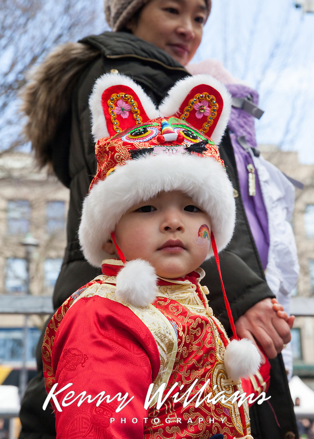 Chinese New Year 2018, Chinatown, Seattle, WA, USA.
