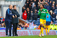 Preston North End manager Alex Neil shouts instructions to Daniel Johnson from the technical area<br /> <br /> Photographer Alex Dodd/CameraSport<br /> <br /> The EFL Sky Bet Championship - Blackburn Rovers v Preston North End - Saturday 9th March 2019 - Ewood Park - Blackburn<br /> <br /> World Copyright © 2019 CameraSport. All rights reserved. 43 Linden Ave. Countesthorpe. Leicester. England. LE8 5PG - Tel: +44 (0) 116 277 4147 - admin@camerasport.com - www.camerasport.com