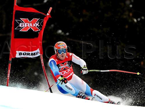 29 12 2009  Ski Alpine FIS WC Bormio Dowmhill  men Bormio Italy 29 Dec 09 Ski Alpine FIS World Cup Dowmhill  for men Picture shows Didier Cuche SUI .