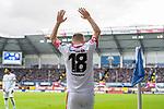 05.10.2019, Benteler Arena, Paderborn, GER, 1.FBL, SC Paderborn 07 vs 1. FSV Mainz 05<br /><br />DFL REGULATIONS PROHIBIT ANY USE OF PHOTOGRAPHS AS IMAGE SEQUENCES AND/OR QUASI-VIDEO.<br /><br />im Bild / picture shows<br />Daniel Brosinski (FSV Mainz 05 #18) Kapitän / mit Kapitänsbinde, <br /><br />Foto © nordphoto / Ewert
