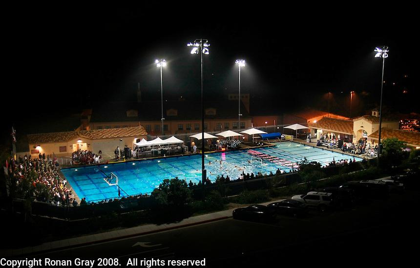 Saturday,November 22 2008.  Bishops High School of La Jolla defeat Coronado High 4 to 3 for the CIF Division II Boys Water Polo Title.