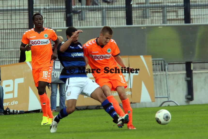 Nils Teixeira (FSV) gegen Dominick Drexler (Fürth) - FSV Frankfurt vs. SpVgg Greuther Fürth, Frankfurter Volksbank Stadion