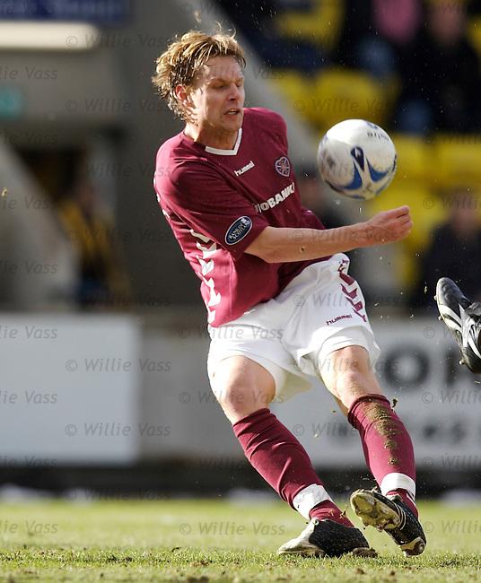Edgaras Jankauskas, Hearts.stock season 2005-2006.pic willie vass