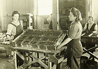BNPS.co.uk (01202 558833)<br /> Pic: MitchellsAuctionHouse/BNPS<br /> <br /> PICTURED: Workers construct the concrete mattresses<br /> <br /> The fascinating archive of one of the engineers who designed the Mulberry Harbours which were installed off the Normandy coast following the D-Day landings has come to light.<br /> <br /> Colonel Vassal Charles Steer-Webster OBE helped create the giant, floating artificial harbours which protected anchored supply ships from German attacks.<br /> <br /> They were built in the dry docks on The Thames and Clyde and pulled across the channel by tugs before being hastily assembled.<br /> <br /> Col Steer-Webster was in almost daily contact with Churchill during their development ahead of June 6, 1944. Now, his personal effects, including a letter of thanks from Winston Churchill, are being sold by his nephew with Mitchells Auctioneers, of Cockermouth, Cumbria. <br /> <br /> The archive, which is expected to fetch £15,000, also features 150 photos showing Mulberry B's construction and use, as well as his medals.