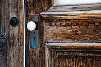Door, Bodie State Park, California