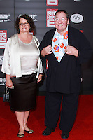 HOLLYWOOD, LOS ANGELES, CA, USA - NOVEMBER 04: Nancy Lasseter, John Lasseter arrive at the Los Angeles Premiere Of Disney's 'Big Hero 6' held at the El Capitan Theatre on November 4, 2014 in Hollywood, Los Angeles, California, United States. (Photo by David Acosta/Celebrity Monitor)