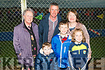 Attending the Pig Racing at the Ballyheigue Summer Festival at Ballyheigue GAA grounds on Thursday evening, Tadhg,Liam,Clodagh,Joan,Padraig and Margaret Carroll.