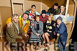 The cast of the CYMS 'Widows Paradise' at the launch in CYMS in Killorglin on Tuesday.<br /> Seated l to r: James Riordan (Wilfred), Bridget Callaghan (Ruby Dempsey), Jeanna O'Shea (Rachel) and Colm Clifford (Mr McGonagle).<br /> Back l to r: Brian O'Sullivan (Ernest), Martha Fleming (Vanessa Burton) and Donal Piggot (Harry Bradshaw).<br /> Lying on the bed Adrian O'Callaghan (Alan Bradshaw) and Sarah Piggot (Sylvia).