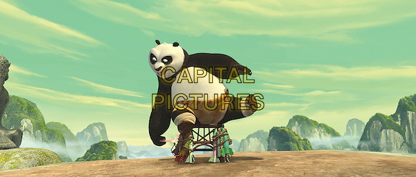 PO (voiced by Jack Black).in Kung Fu Panda.*Filmstill - Editorial Use Only*.CAP/PLF.Supplied by Capital Pictures.