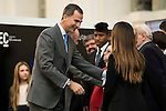 King Felipe VI of Spain during the main event of COTEC at Crystal Gallery of the Cibeles Palace in Madrid, Spain, November 23, 2015. <br /> (ALTERPHOTOS/BorjaB.Hojas)