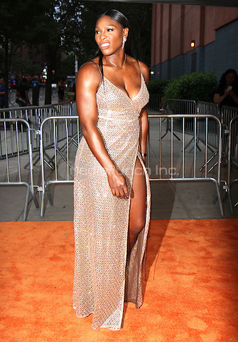NEW YORK, NY-June 13: Serena Williams at  EPIX presents New York premiere of  EPIX original Documentary SERENA the Other Side of Greatness at the SVA Theatre in New York. NY June 13, 2016. Credit:RW/MediaPunch
