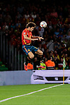 Spain's Marcos Alonso during UEFA Nations League 2019 match between Spain and England at Benito Villamarin stadium in Sevilla, Spain. October 15, 2018. (ALTERPHOTOS/A. Perez Meca)
