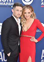 LAS VEGAS, CA - APRIL 07: Michael Ray (L) and Carly Pearce attend the 54th Academy Of Country Music Awards at MGM Grand Hotel &amp; Casino on April 07, 2019 in Las Vegas, Nevada.<br /> CAP/ROT/TM<br /> &copy;TM/ROT/Capital Pictures