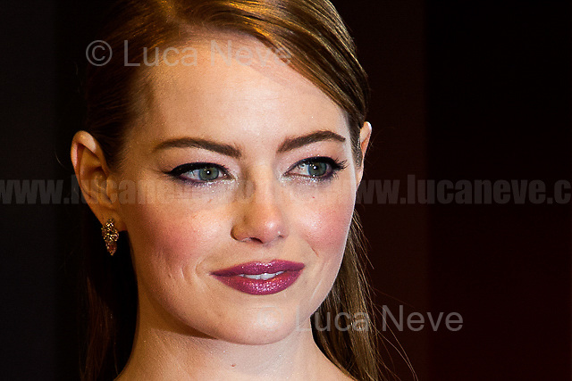 Emma Stone.<br />