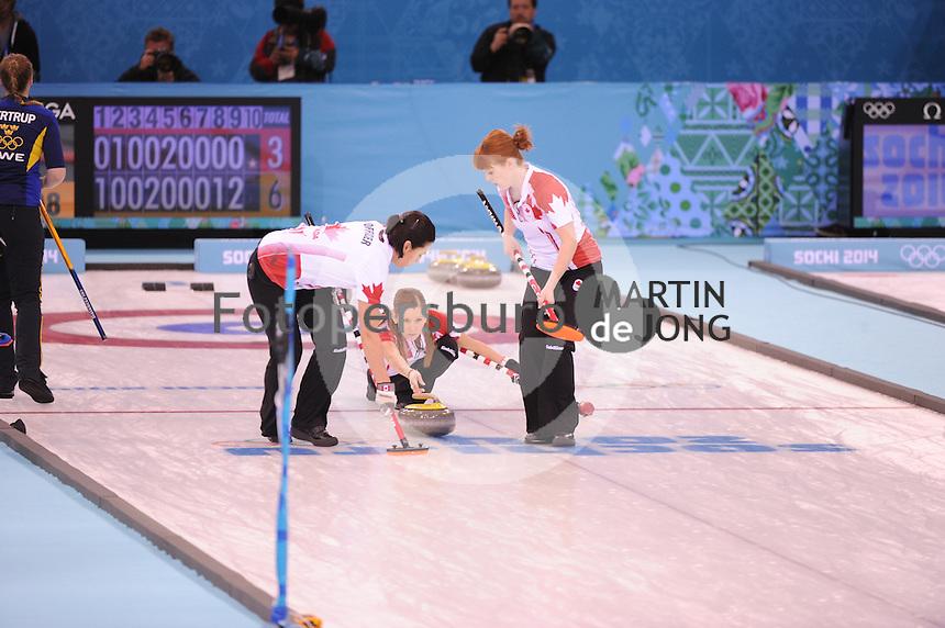 OLYMPICS: SOCHI: Adler Arena, 2014, ©photo Martin de Jong
