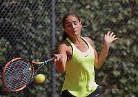 Hilversum, Netherlands, August 10, 2016, National Junior Championships, NJK, Isabella Mujan (NED)<br /> Photo: Tennisimages/Henk Koster