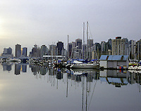 Vancouver skyline from Stanley Island