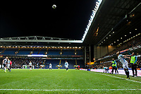 Blackburn Rovers' Elliott Bennett takes a throw in<br /> <br /> Photographer Alex Dodd/CameraSport<br /> <br /> Emirates FA Cup Third Round Replay - Blackburn Rovers v Newcastle United - Tuesday 15th January 2019 - Ewood Park - Blackburn<br />  <br /> World Copyright © 2019 CameraSport. All rights reserved. 43 Linden Ave. Countesthorpe. Leicester. England. LE8 5PG - Tel: +44 (0) 116 277 4147 - admin@camerasport.com - www.camerasport.com