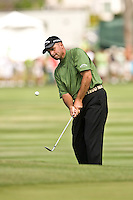 March 27, 2009, Arnold Palmer Invitational * Second Round*.  Rocco Mediate chips up to the 6th green during second round play  at Bay Hill Golf Club in Orlando, Florida...