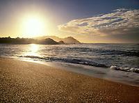 Carmel River Beach at Sunset