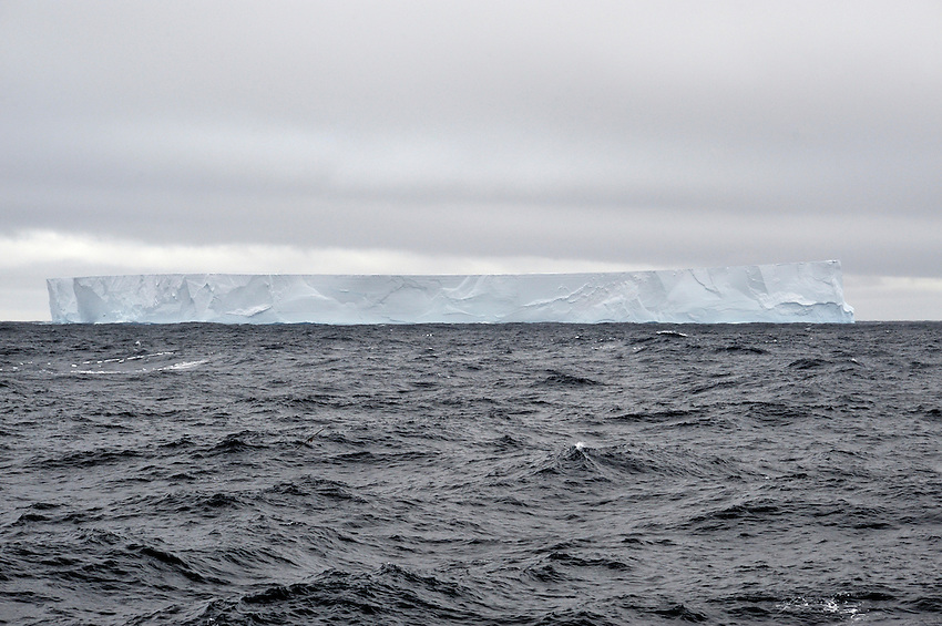 Flat Top iceburg in the Great Southern Ocean.