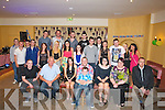 FRIENDS &FAMILY: Friends and family gathered at the White Sands Hotel, Ballyheigue, on Saturday night to celebrate Adam O'Hanlon's 21`st Birthday. (adam is seated centre)....